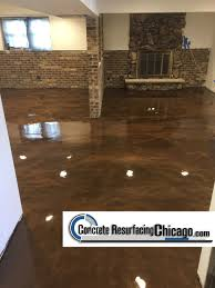 epoxy flooring basement. Concrete Resurfacing Chicago Residential Epoxy Basement Polymer Floors Solutions, Inc, 630- Flooring