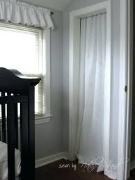 using closet cover ideas open curtains instead of doors for curtain door hanging curta curtain to cover closet ideas
