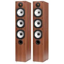Купить <b>Напольные</b> колонки <b>Monitor Audio</b> Monitor MR6 Walnut в ...