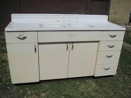 vintage kitchen sink cabinet. Exellent Sink Antique Vintage Youngstown Kitchen Cabinet Sink Base WDouble Basin  1950u0027s For T