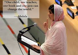 the pen is mightier than the sword rdquo malala yousafzai s speech at foto from women s rights news