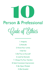 best code of ethics ideas cherokee n personal professional code of ethics