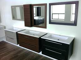 decoration hanging vanity cabinet amazing best floating the design inside vanities in wall for bathroom