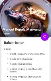 Kuliner kepala manyung atau kepala kakap merah. Resep Ikan Bumbu Kuning Lengkap For Android Apk Download