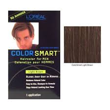 Amazon.com : LOREAL Color Smart Haircolor for Men Light Brown (One ...