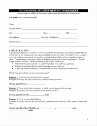 High School Resume Templates Template For College Download Free