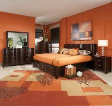 Orange Bedroom Color Schemes Amazing Decorating Ideas Using .