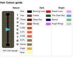 New Leaf Hair Color Chart Pin By Brittney Morgan Sager On Animal Crossing Nonsense
