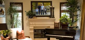 Framed Tv Above Fireplace Family Pictures Over Fireplace Fireplaces