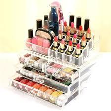 diy makeup storage acrylic box makeup storage makeup organizer diy jewelry makeup storage with ferrero rocher