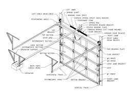 garage door partsGarage Door Diagrams