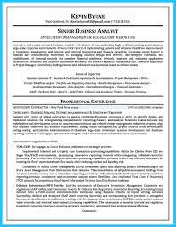 Business Analyst Resume Name Junior It Sample Samples Qualification