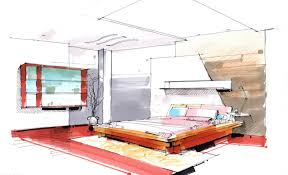 Draw Interior Design Bedroom Bedroom Sketch . By Cornerart On Deviantart |  Decorate My House