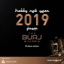 Happy New Year 2019 To All Of You From The Burj Millenia May This