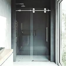 vigo elan 64 x 74 single sliding semi frameless shower door semi frameless shower door semi