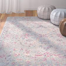 pink and grey rug pink grey geometric rug