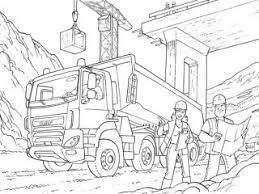 Vrachtauto Kleurplaat Scania Woyaoluinfo