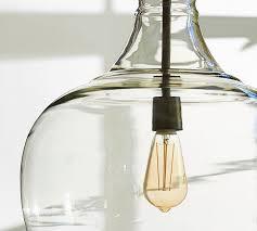 recycled glass lighting. Recycled Glass Pendant Light Irrational Flynn Oversized Pottery Barn Home Design 0 Lighting