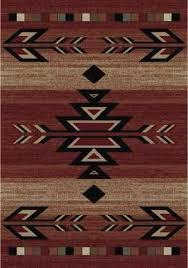 southwestern area rug 8x10 lodge cabin southwest southwestern rio grande red black beige area rug rugs