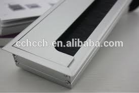 office desk cover. Rectangular Cable Access Computer Hole Cover/Aluminium Alloy Office Desk Grommet Cover A