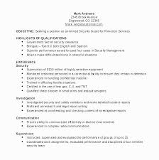 Entry Level Security Guard Resume Sample Beautiful Entry Level Jobs