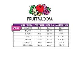 Fruit Of The Loom Stock Chart 55 All Inclusive Fruit Of The Loom Boxer Brief Size Chart