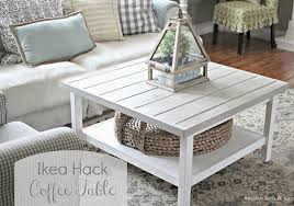 A coffee table is very important because it usually has a prominent place in your living room. Budget Friendly Ikea Coffee Table Hacks The Cottage Market