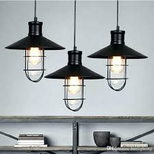 vintage style lamps rustic pendant lights rounded metal lamp shade lighting retro decoration home items