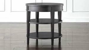 round night stand tables round nightstand inch nightstand tall bedside tables large black nightstand night