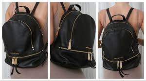 michael kors backpack artemisia marino