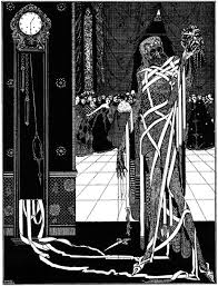 edgar allan poe an illustration for the story the masque of the red death by the author edgar allan