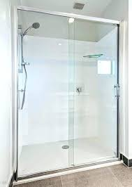 showers sliding glass door shower enclosure enclosures doors solutions framed