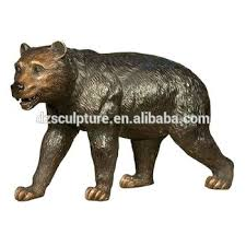 metal bronze life size bear statues for outdoor garden decor statue grizzly