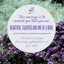 One Of A Kind Quotes Beauteous You Are Beautiful Talented And One Of A Kind Quote