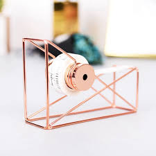 diy stationery metal tape holder tape cutter of life office tape dispenser