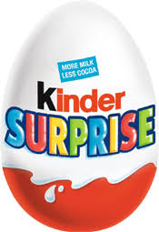 Image result for kinder eggs