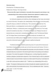 discovery essay the motorcycle diaries year hsc english  discovery essay the motorcycle diaries