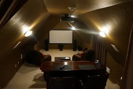 theater room lighting. Attic Theater Room Traditional-home-cinema Lighting L