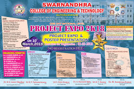 One Day National Level Project Expo Poster Presentation 2k18