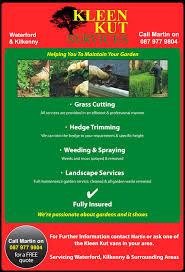 kleen kut gardeners waterford gardeners kilkenny gardening waterford site image