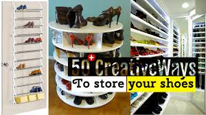 Just The Right Shoe Display Stand 100 Creative Shoe Storage Ideas YouTube 39