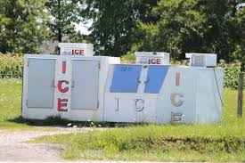 Large Ice Vending Machines Classy Geauga County Amish The Ice Is Nice