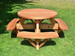how to build a picnic table diy picnic table around tree how to build picnic table