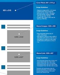 best picture size for facebook infographic 2016 social media image sizes cheat sheet designtaxi com