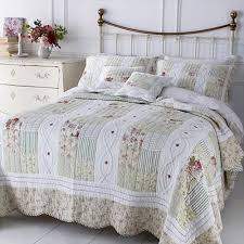 Sashi Bed Linen English Rose 100% Cotton Quilted Patchwork ... & Sashi Bed Linen English Rose 100% Cotton Quilted Patchwork Bedspread,  Multi, King/ Adamdwight.com