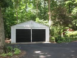 black garage doorsPainting A Garage Door Is Easy And Affordable Heres How We