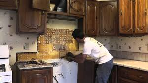 how to install granite countertops on a budget part 1 removing the old tile you