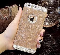 iphone 5s gold case for girls. dorron fashion girls iphone5/5s/se gold - new bling rich sparkle hard glitter iphone 5s case for l