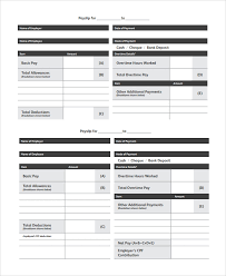 free uk payslip template download 9 payslip templates pdf word
