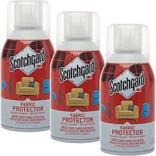 scotchgard 3 pack 3m fabric 6oz protector spray block furniture upholstery protection for stains